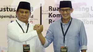 Prabowo-Sandi Wacanakan Kementerian Bencana atasi Kebakaran Pemukiman