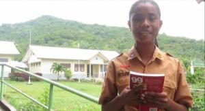 Wakili NTT, Siswi SMP Asal Flotim Lolos Seleksi Lomba Esai Tingkat Nasional