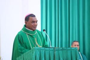 Kabar Duka, Uskup Timika Mgr John Philip Saklil Meninggal Dunia