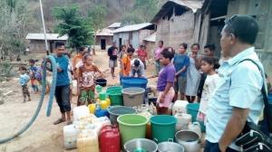 Krisis Air Bersih Landa 3 Kecamatan di Mabar