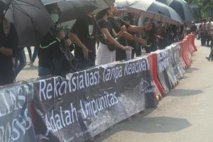 Geliat Musisi Indonesia di Pusaran Aksi Melawan Pelanggaran HAM