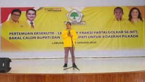 Golkar Survei Paslon Kepala Daerah di Lima Kabupaten di NTT