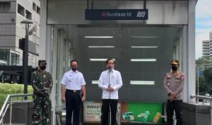 Disiplinkan Masyarakat Patuhi PSBB, Presiden Jokowi Akan Kerahkan TNI dan Polisi