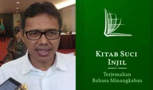 Gubernur Sumbar Minta Hapus Aplikasi Alkitab Bahasa Minang
