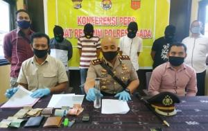 Polisi Amankan Empat Pelaku Penyalahgunaan Narkoba di Ngada