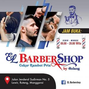 Harga Terjangkau, Cukur Rambut Anda di EL Barbershop Ruteng