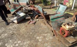 Kapal Nelayan Milik Pelaku Bom Ikan di Flotim Dimusnahkan