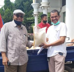 KBM Jaya Kembali Salurkan Bantuan Sembako Bagi Warga Maumere Jakarta