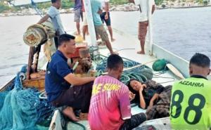 Kapal Motor Bawa 24 Penumpang Tenggelam di Ende, Seorang Balita Meninggal