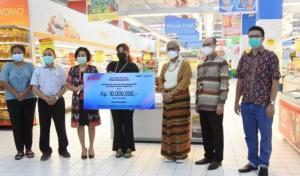 Nobu Bank Salurkan Bantuan bagi UMKM Terdampak Badai Seroja NTT