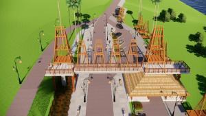 Keren, Ini Penampakan Desain Pembangunan Gerbang Masuk Kota Kupang