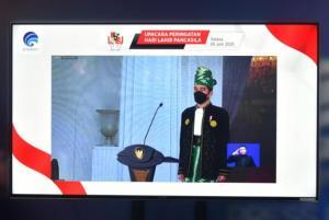 Jokowi: Konektivitas 5G Harus Dimanfaatkan untuk Penyebarluasan Ideologi Pancasila