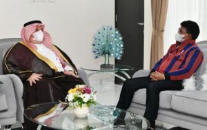 Menkominfo Bahas Tindak Lanjut DCO dan Kerja Sama Ekonomi Digital dengan Dubes Arab Saudi