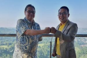 Ridwan Kamil Merapat ke Golkar, Meutya: Kita Lihat Siapa yang Dampingi Airlangga
