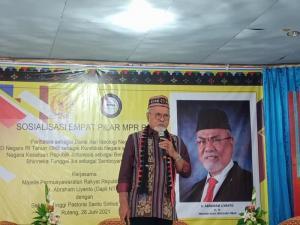 Abrahaman Liyanto Tegaskan Empat Pilar Pemersatu Bangsa