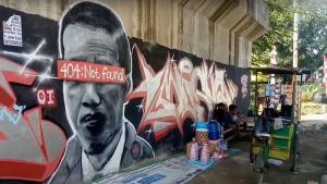 Gerindra Sebut Mural Jokowi 404: Not Found Bagian dari Ekspresi Seni