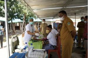 Pemkab Manggarai Timur Gelar Kegiatan Vaksinasi Bagi Pelajar di Sekolah