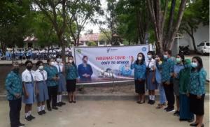 Bupati Manggarai Barat Apresiasi Pelaksanaan Vaksinasi bagi Pelajar di Labuan Bajo