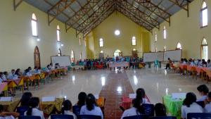Yayasan Somba Mori Go Perdalam Iman Katolik Siswa Melalui Lomba Cerdas Cermat